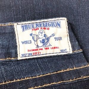 True Religion Flare Becky Jeans